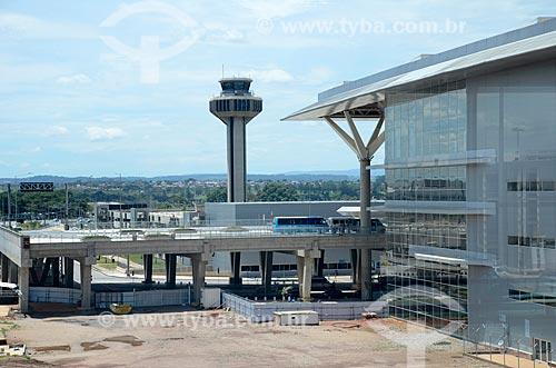 Torre de controle do Aeroporto Internacional de Viracopos  - Campinas - São Paulo (SP) - Brasil