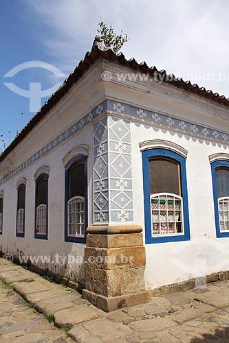 Casario colonial  - Paraty - Rio de Janeiro (RJ) - Brasil
