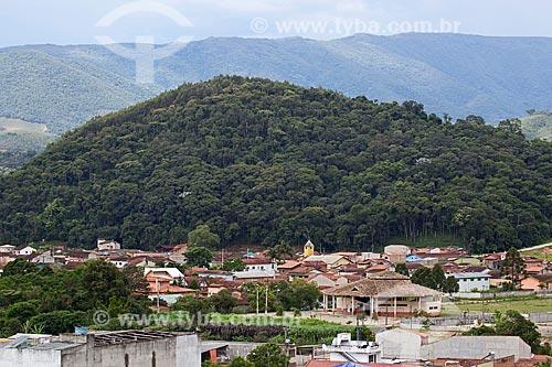Vista geral da cidade de Itamonte com a Serra da Mantiqueira ao fundo  - Itamonte - Minas Gerais (MG) - Brasil