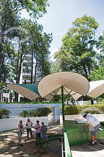 Fonte Sulfurosa Jaime Sotto Mayor no Parque das Águas São Lourenço  - São Lourenço - Minas Gerais (MG) - Brasil