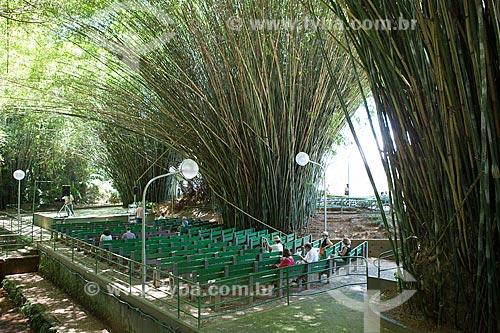 Auditório ao ar livre no bambuzal do Parque das Águas São Lourenço  - São Lourenço - Minas Gerais (MG) - Brasil