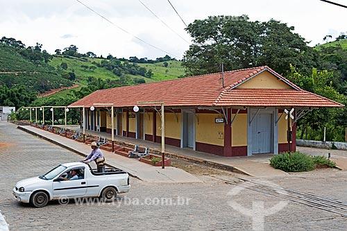 Antiga estação de trem de Soledade de Minas (1884)  - Soledade de Minas - Minas Gerais (MG) - Brasil
