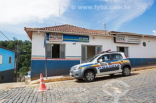 Delegacia da cidade de Soledade de Minas  - Soledade de Minas - Minas Gerais (MG) - Brasil