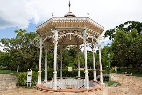 Fonte Duque de Saxe no Parque Dr. Lisandro Carneiro Guimarães (Parque das Águas de Caxambu)  - Caxambu - Minas Gerais (MG) - Brasil
