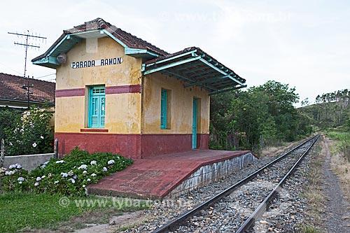 Estação Ferroviária Parada Ramon  - São Lourenço - Minas Gerais (MG) - Brasil