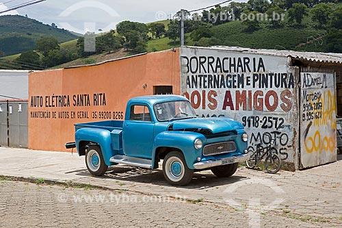Chevrolet Brasil 3100 (1962) restaurado na oficina mecânica do Piu Piu  - Carmo de Minas - Minas Gerais (MG) - Brasil