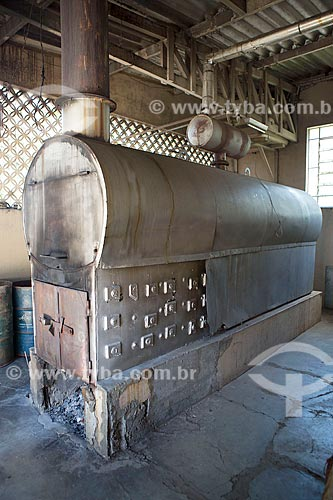 Caldeira da fábrica de doces Imperial - km 92 da Rodovia BR-354  - Caxambu - Minas Gerais (MG) - Brasil
