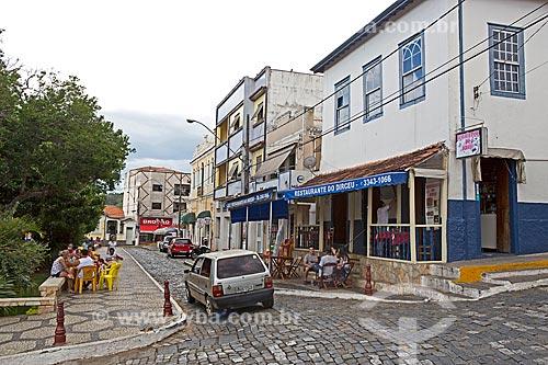 Vista da Rua Capitão João Rocha  - Baependi - Minas Gerais (MG) - Brasil