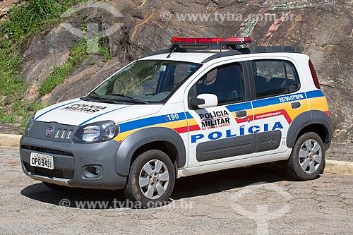 Viatura da Polícia Militar de Minas Gerais  - Soledade de Minas - Minas Gerais (MG) - Brasil