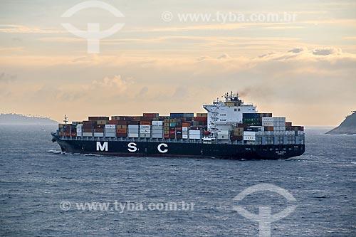Navio cargueiro  - Rio de Janeiro - Rio de Janeiro (RJ) - Brasil