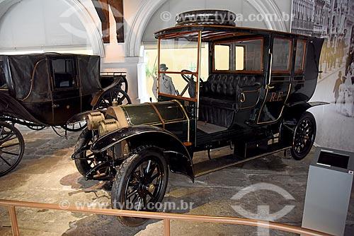 Automóvel Protos (1908) modelo 17/25 PS Landaulet utilizado pelo Barão do Rio Branco - parte da exposição permanente do móvel ao automóvel - no Museu Histórico Nacional  - Rio de Janeiro - Rio de Janeiro (RJ) - Brasil