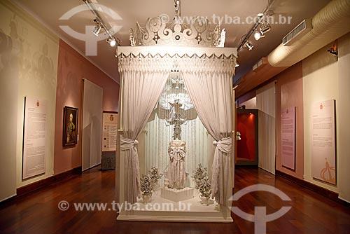Parte da exposição permanente A Construção da Nação - Museu Histórico Nacional  - Rio de Janeiro - Rio de Janeiro (RJ) - Brasil