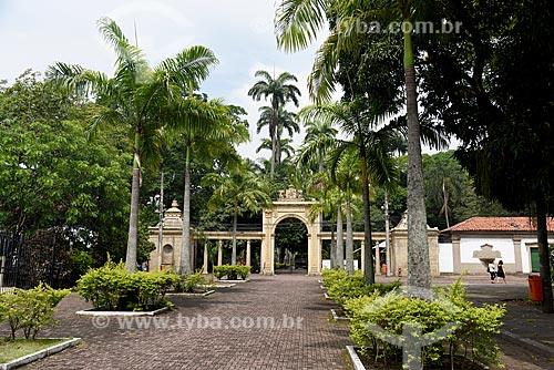 Portal de entrada do Jardim Zoológico do Rio de Janeiro  - Rio de Janeiro - Rio de Janeiro (RJ) - Brasil