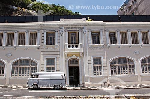 Fachada do antigo Hotel Leblon (1926)  - Rio de Janeiro - Rio de Janeiro (RJ) - Brasil
