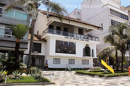 Fachada da Casa de Cultura Laura Alvim  - Rio de Janeiro - Rio de Janeiro (RJ) - Brasil