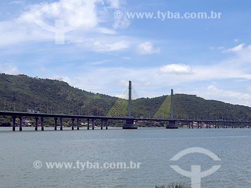 Vista da Ponte Anita Garibaldi  - Laguna - Santa Catarina (SC) - Brasil
