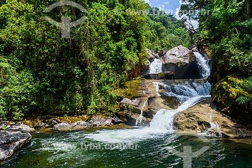 Cachoeira Itaporani no Parque Nacional de Itatiaia  - Itatiaia - Rio de Janeiro (RJ) - Brasil