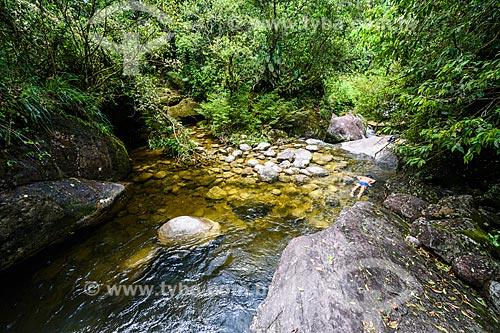 Poço do Pulo no Área de Proteção Ambiental da Serrinha do Alambari  - Resende - Rio de Janeiro (RJ) - Brasil