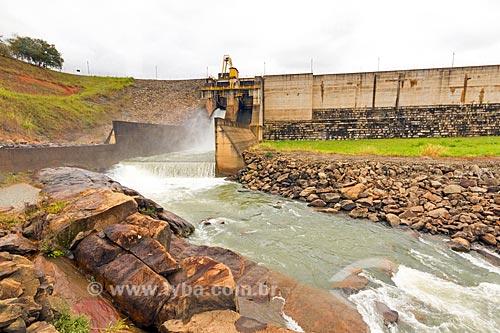Usina Hidrelétrica de Zé Tunin no Rio Pomba  - Guarani - Minas Gerais (MG) - Brasil