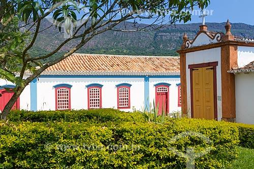 Vista da Capela dos Passos da Paixão (1740) no Largo da Câmara  - Tiradentes - Minas Gerais (MG) - Brasil