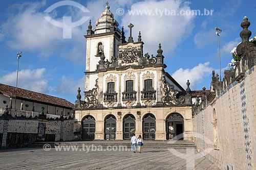 Fachada do Convento e Igreja de São Francisco (1588) - parte do Centro Cultural São Francisco  - João Pessoa - Paraíba (PB) - Brasil