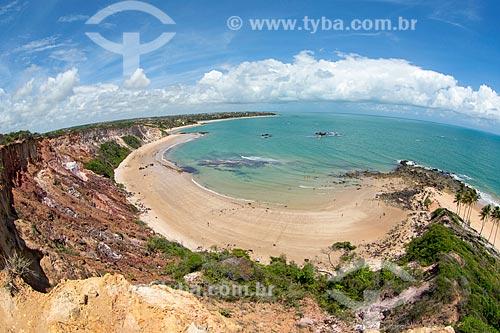 Vista do Praia do Tabatinga  - Conde - Paraíba (PB) - Brasil