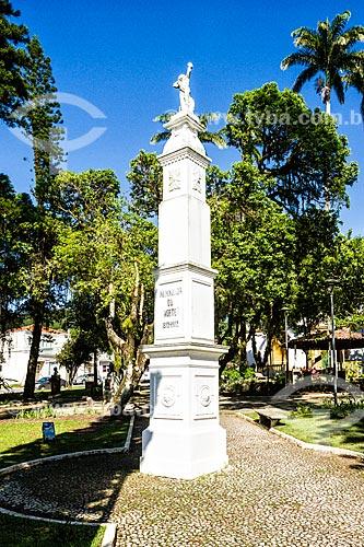 Monumento ao centenário da Independência, na Praça Hercílio Luz, no centro histórico de São José  - São José - Santa Catarina (SC) - Brasil