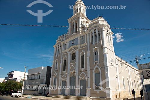 Fachada da Igreja de Nossa Senhora das Dores  - Monteiro - Paraíba (PB) - Brasil