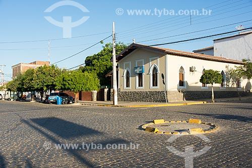 Sede do SEBRAE (Serviço Brasileiro de Apoio às Micro e Pequenas Empresas) na cidade de Monteiro  - Monteiro - Paraíba (PB) - Brasil