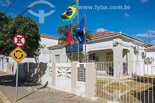 Fachada da sede do Ministério Público na cidade de Monteiro  - Monteiro - Paraíba (PB) - Brasil