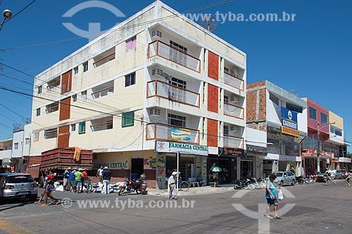 Comércio no centro da cidade de Cabrobó  - Cabrobó - Pernambuco (PE) - Brasil