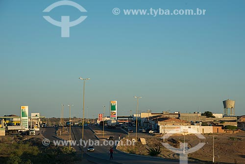 Trecho da Rodovia BR-428 próximo à cidade de Cabrobó  - Cabrobó - Pernambuco (PE) - Brasil