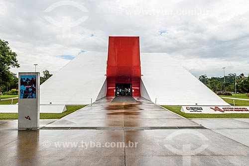 Fachada do Auditório do Ibirapuera (2005)  - São Paulo - São Paulo (SP) - Brasil