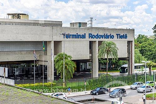 Entrada do Terminal Rodoviário Governador Carvalho Pinto - mais conhecido como Terminal Rodoviário Tietê  - São Paulo - São Paulo (SP) - Brasil