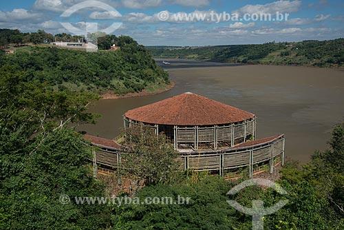 Anfiteatro Espaço das Américas no Marco das Três Fronteiras  - Foz do Iguaçu - Paraná (PR) - Brasil