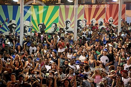 Show do grupo Sorriso Maroto no Terreirão do Samba durante o carnaval  - Rio de Janeiro - Rio de Janeiro (RJ) - Brasil