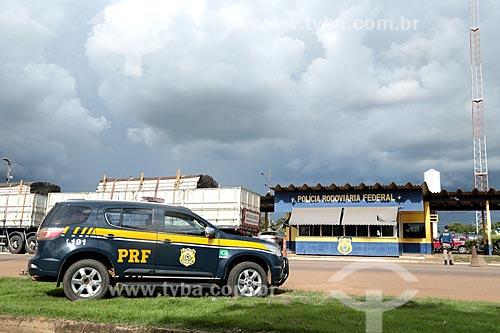 Posto da Polícia Rodoviária na Rodovia BR-364  - Ariquemes - Rondônia (RO) - Brasil