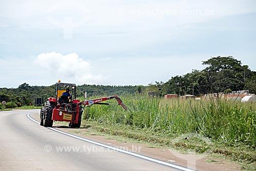 Recuperação do acostamento da Rodovia BR-364  - Santo Antônio do Leverger - Mato Grosso (MT) - Brasil