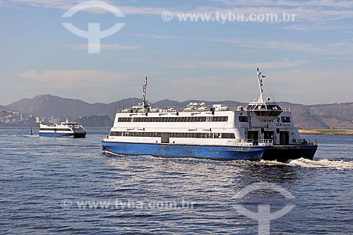 Barca Gávea I - utilizada na travessia entre Rio de Janeiro e Niterói  - Rio de Janeiro - Rio de Janeiro (RJ) - Brasil