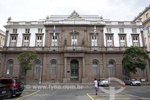 Fachada da Escola de Magistratura do Estado do Rio de Janeiro (EMERJ)  - Rio de Janeiro - Rio de Janeiro (RJ) - Brasil