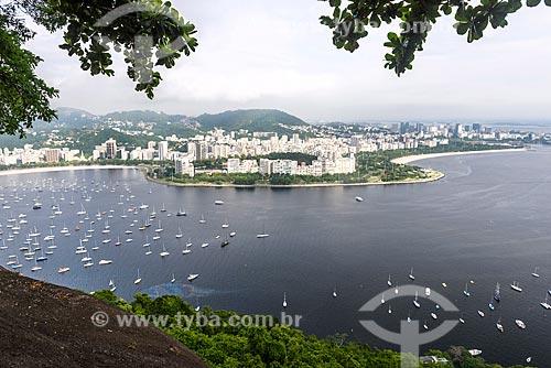 Vista Aterro do Flamengo a partir do Morro da Urca  - Rio de Janeiro - Rio de Janeiro (RJ) - Brasil