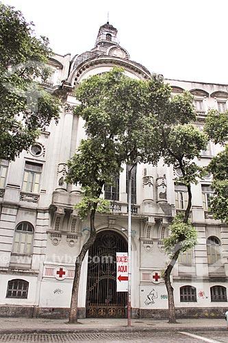 Fachada da sede do Movimento Internacional da Cruz Vermelha  - Rio de Janeiro - Rio de Janeiro (RJ) - Brasil