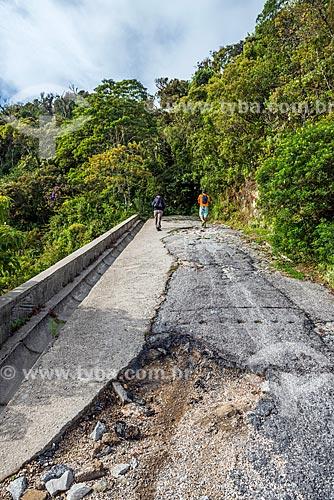 Trilha do Pico da Caledônia no Parque Estadual dos Três Picos  - Nova Friburgo - Rio de Janeiro (RJ) - Brasil