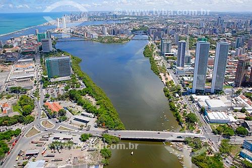 Foto aérea do Ponte de Limoeiro  - Recife - Pernambuco (PE) - Brasil