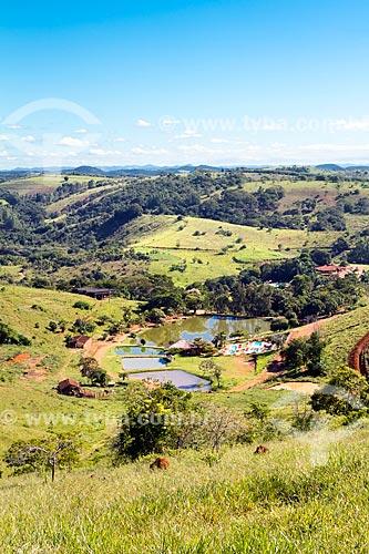 Vista geral do Hotel Fazenda Santa Felicidade  - Rio Novo - Minas Gerais (MG) - Brasil