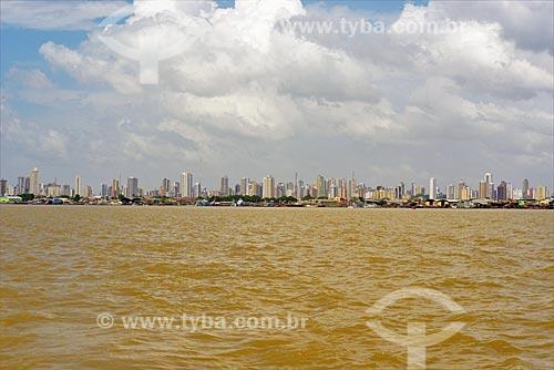 Belém vista da Baía do Guajará  - Belém - Pará (PA) - Brasil