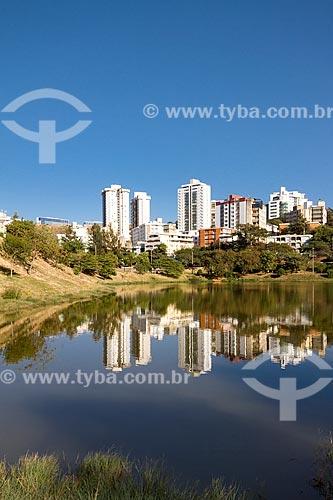 Vista geral da Barragem Santa Lúcia  - Belo Horizonte - Minas Gerais (MG) - Brasil