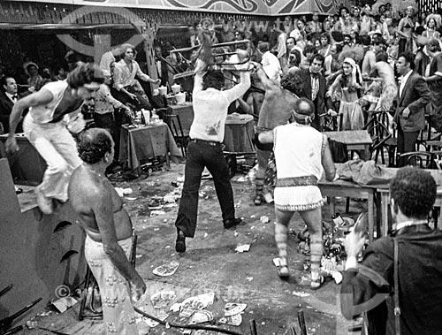 Briga durante o último baile de carnaval do Theatro Municipal do Rio de Janeiro  - Rio de Janeiro - Rio de Janeiro (RJ) - Brasil