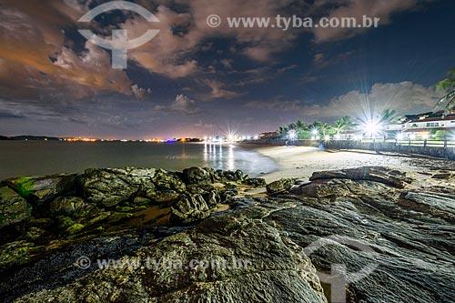 Vista do anoitecer na Praia Rasa  - Armação dos Búzios - Rio de Janeiro (RJ) - Brasil