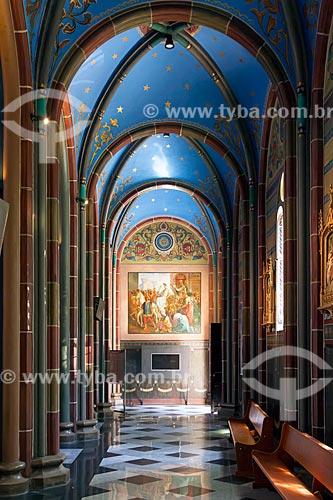 Interior da Igreja de São José (1902)  - Belo Horizonte - Minas Gerais (MG) - Brasil